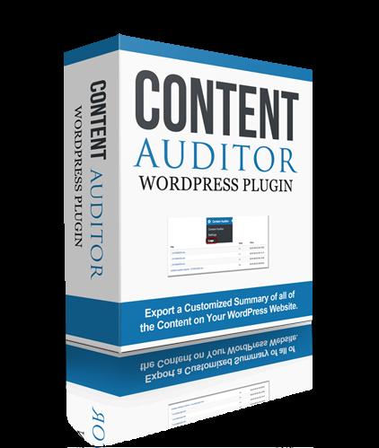 Content Auditor WP Plugin