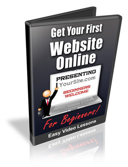 get your first website online