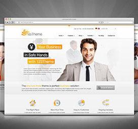 Wordpress Premium Business Theme V2
