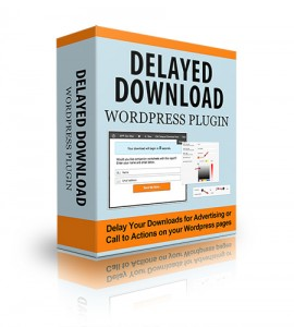 Delayed Download WP Plugin