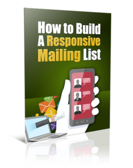 Build A Responsive Mailing List - PLR
