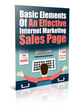 Effective Internet Marketing Sales Page - PLR