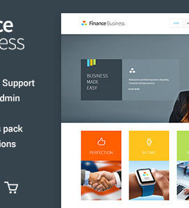 Wordpress Premium Business Theme V1