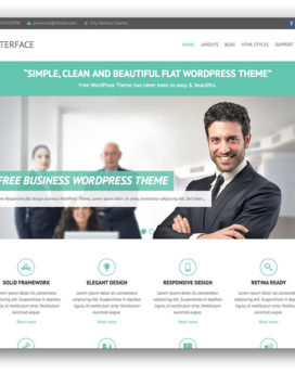 Wordpress Premium Business Theme V3