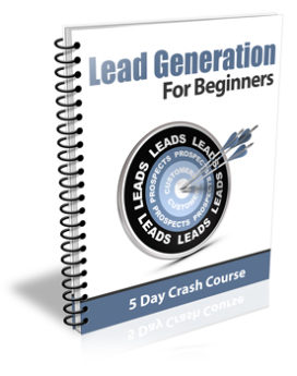 Lead Generation For Beginners PLR Newsletter