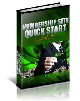 Membership Site Quick Start Guide