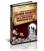 Insider Secrets For A Successful Membership Website