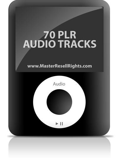 70 Audio Tracks - PLR