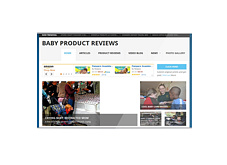 Baby Product Review Website - PLR
