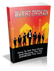 Network Marketing Resolutions