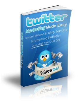 Twitter Marketing Made Easy - PLR