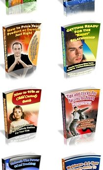 8 Brand New PLR eBooks Pack - PLR