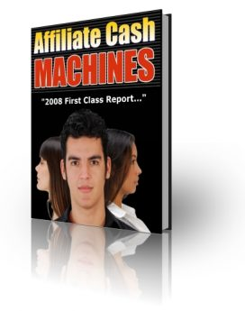 Affiliate Cash Machines - PLR