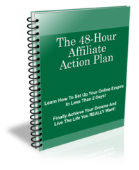 Affiliate Marketer 48 Hour Plan - PLR