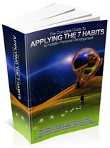 Applying The 7 Habits In Holistic Personal Development!