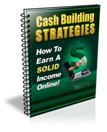 Cash Building Strategies - Unrestricted PLR