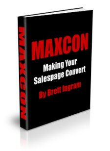 MAXCON- Making Your Salespage Convert - PLR