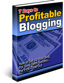 Profitable Blog In Just 7 Days - PLR