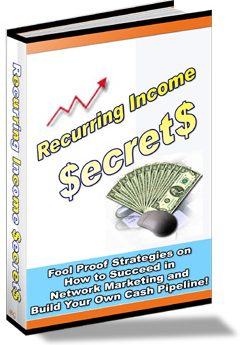 Recurring Income Secrets - PLR