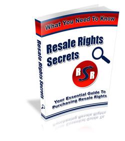 Resale Rights Secrets