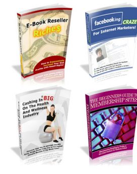 PLR Special Offer 10 - 4 No Restriction PLR eBooks