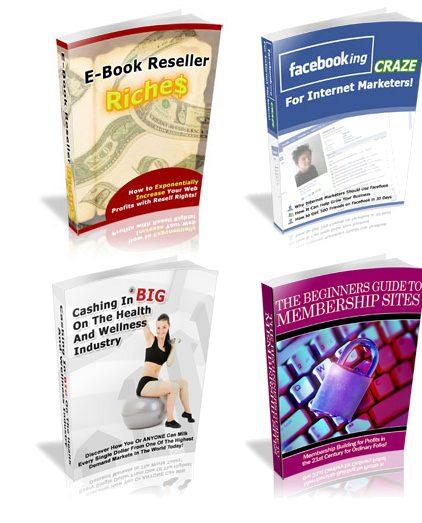 PLR Special Offer 10 - 4 No Restriction PLR eBooks