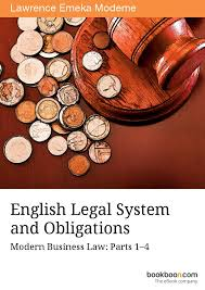 ENGLISH LEGAL SYSTEM AND OBLIGATIONS