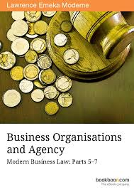 BUSINESS ORGANISATIONS AND AGENCY