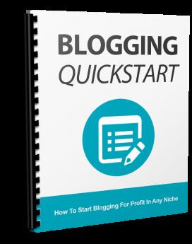 Blogging Quickstart