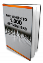 one month to 1,000 list member