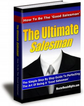 the ultimate salesman - plr