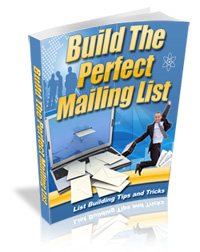 building the perfect mailing l