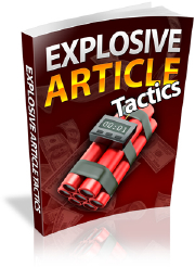 explosive article tactics - pl