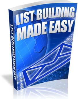 list-building made easy - plr