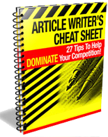 article writer_s cheat sheet -