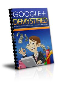 google+ demystified